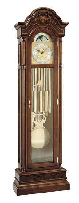 0117-82-02 - Kieninger Walnut Grandfather Clock
