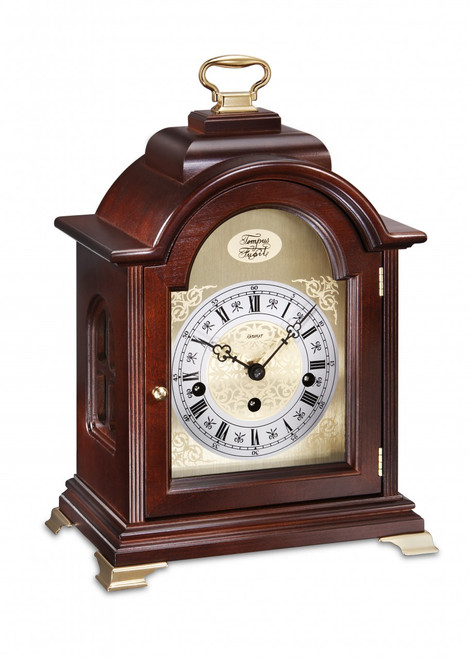 1275-23-01 - Kieninger Mantel Clock Front View