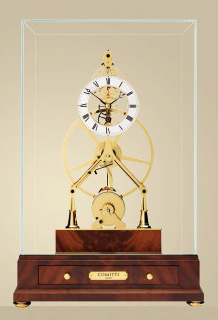 S5010G - Comitti of London - The Mayfair - Mahogany Base Front