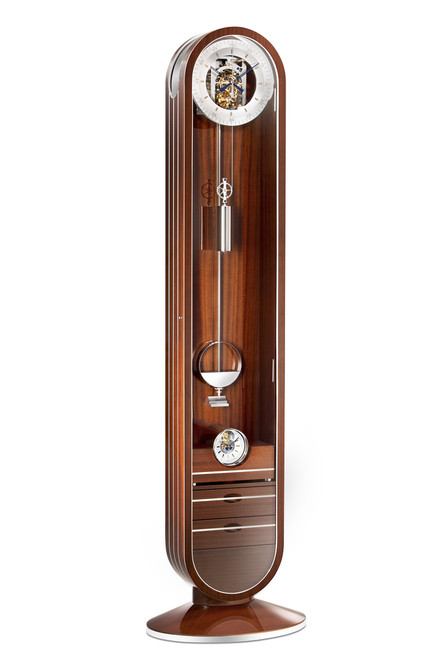0192-31-01  - 'Riva' Limited Edition Longcase Clock With Integrated Tourbillon Mantel Clock