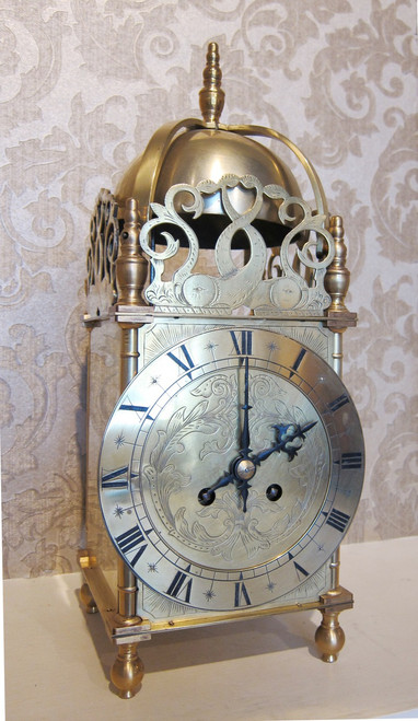 Circa 1890 - French lantern clock