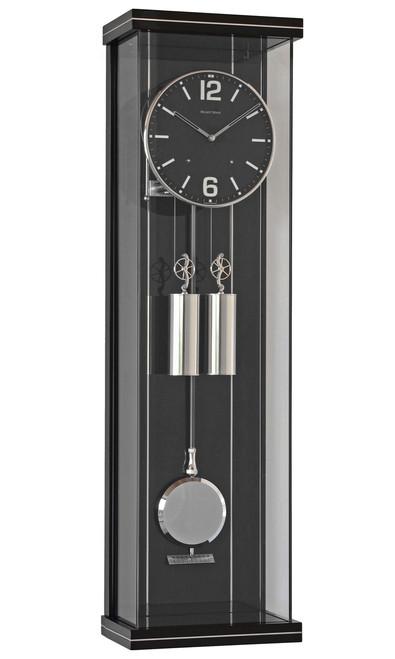 R1810 - Helmut Mayr Regulator Wall Clock - Black Dial