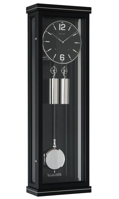 R1690 - Helmut Mayr Regulator Wall Clock - Black Case