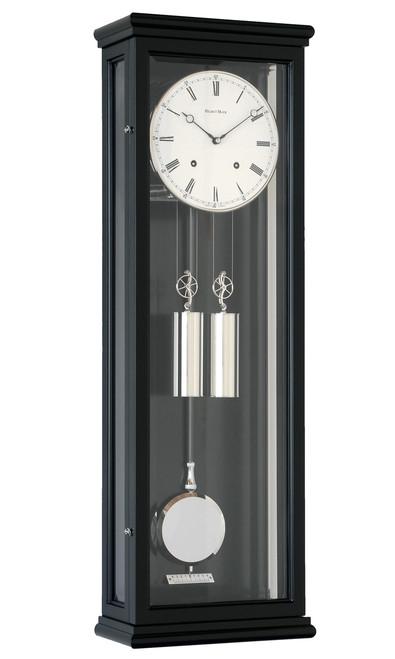 R1680 - Helmut Mayr Classic regulator Wall Clock - Black