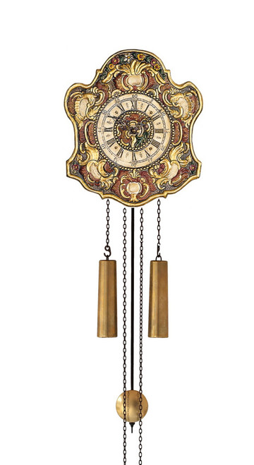 WU57 Helmut Mayr Wall Clock - Front view