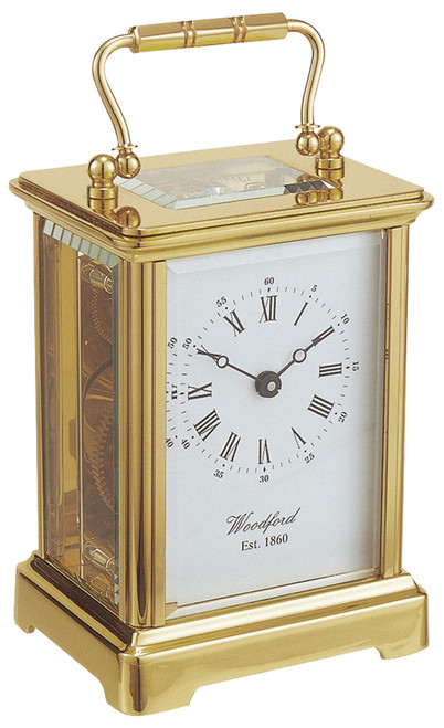 1413 - Woodford Obis 8 Day Carriage Clock