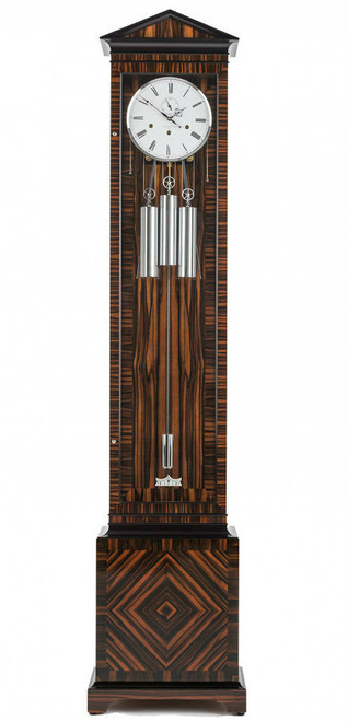 C1601CH - Comitti Vienna Longcase Clock - Makassar