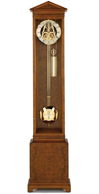 S1201G - Comitti of London Greenwich Burr Walnut Floor Clock