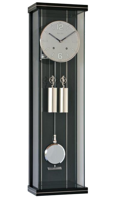 R1810SS - Helmut Mayr Regulator Wall Clock - Stainless Steel Dial