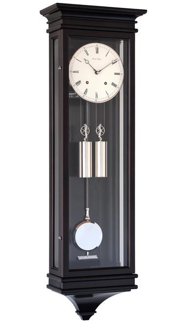 R1650-DB - Helmut Mayr Regulator Wall Clock - Dark Brown