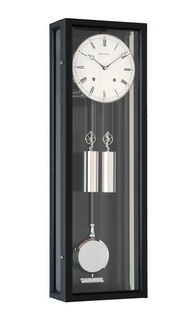 R1670 - Helmut Mayr Regulator Wall Clock - Black