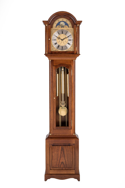C2854TCH - Comitti Windsor Longcase Clock - Oak