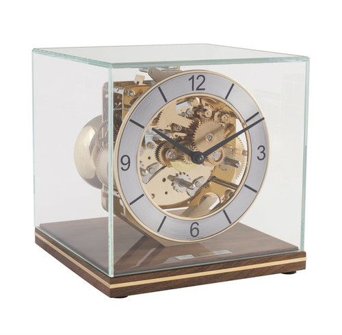 23052-030340 - Hermle Table Clock - Walnut Finish