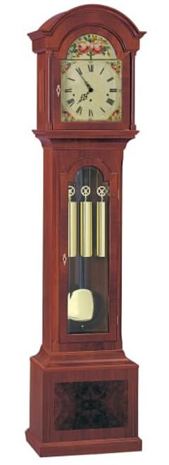 0105-31-05 - Kieninger Mahogany Grandfather Clock.