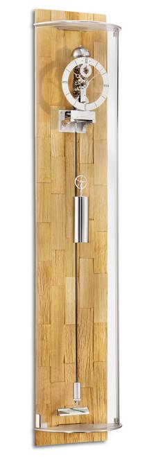 2730-16-01 - Kieninger Oak Regulator Wall Clock