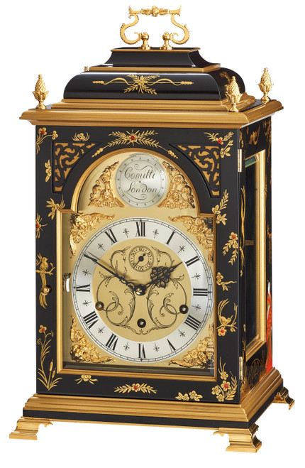 C4623TCH-B  - Comitti of London - The Queen Anne in Chinoiserie - Black