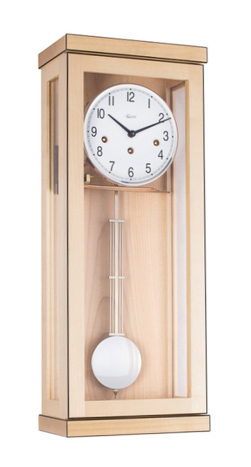 70989-090341 - Hermle Westminster Chime Wall Clock - Maple