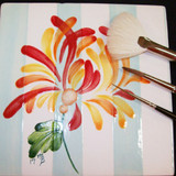Fired Arts - Brush Stroke Mums