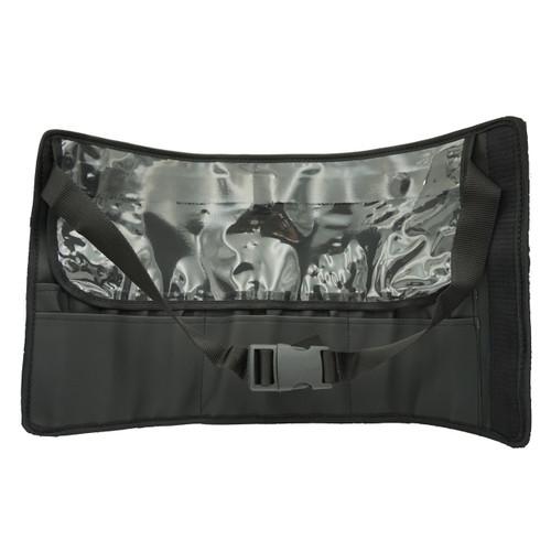 BH-3554 Brush Holder Deluxe Wrap w Velcro 11 slot