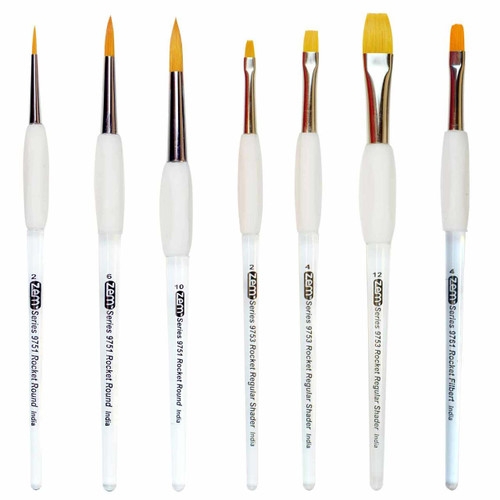 AS-175 Rocket Gel Grip 7pc Starter Brush Set