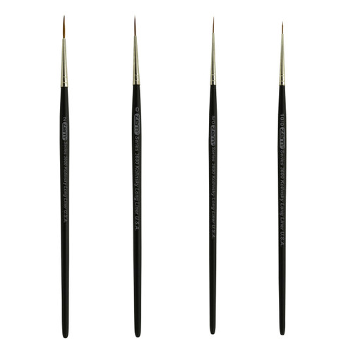 AS-85 Kolinsky Pure Sable Liner Brush Set