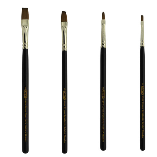 ZEM BRUSH SET AS-141 SHADER SET 4 PCS