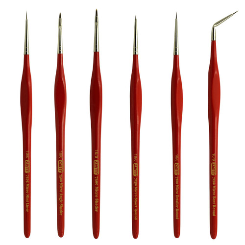 AS-180 MICRO BRUSH SET 6 PCS