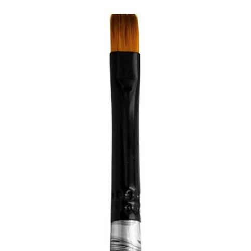4300 Black Swirl Blended Synthetic Shader Artist Brush