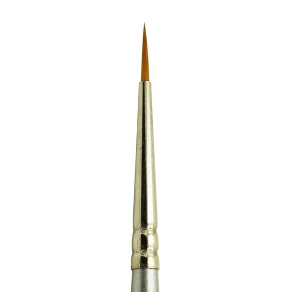 2595 Golden Taklon Synthetic Mini Liner Brush
