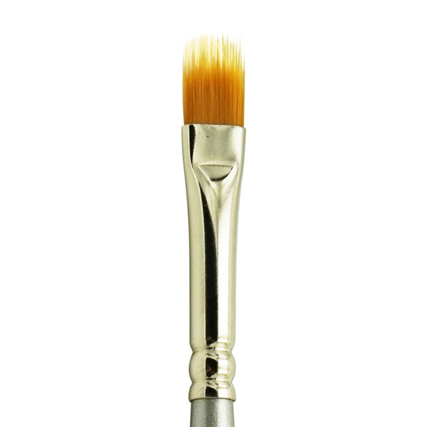 2550 Golden Taklon Synthetic Combe Shader Brush