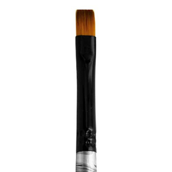 4300 Black Swirl Blended Synthetic Shader Artist Brush
