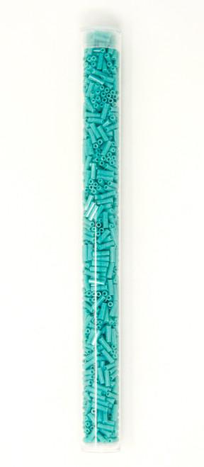 Turquoise Opaque Bugle Bead
