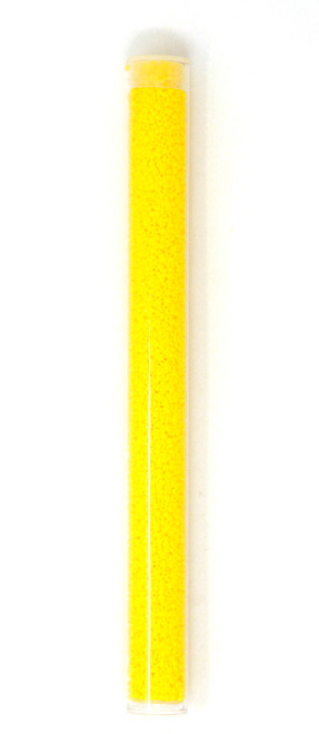 Yellow Opaque Tube - Size 15