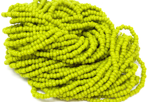 Light Green Opaque - Size 11 Seed Bead