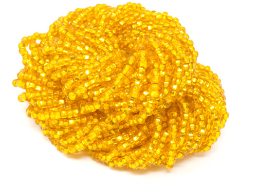 Sun Silver Lined - Size 11 Seed Bead