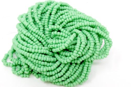 Dark Apple Green Matte - Size 11 Seed Bead
