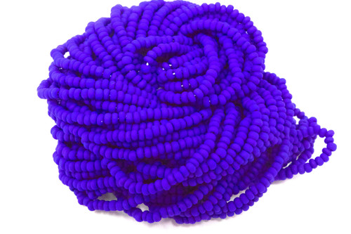 Royal Blue Matte Opaque -Size 11 Seed Bead