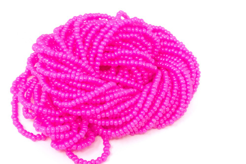 Hot Pink Alabaster Dyed - Size 11 Seed Bead