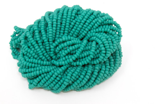 Blue Green Matte - Size 11 Seed Bead