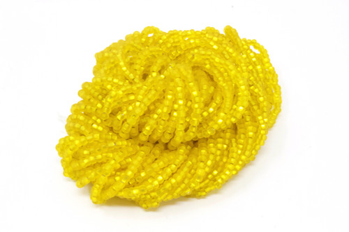 Citrine Silver Lined Matte -  Size 11 Seed Bead