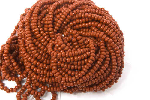 Light Brown Opaque - Size 11 Seed Bead