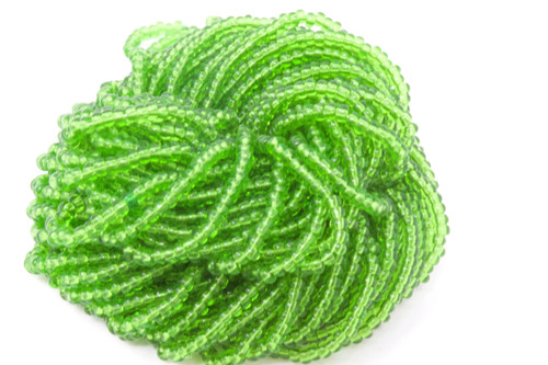 Mint Green Translucent - Size 11 Seed Bead