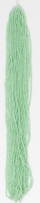 Light Green Pearl Opaque - Size 11 Seed Bead