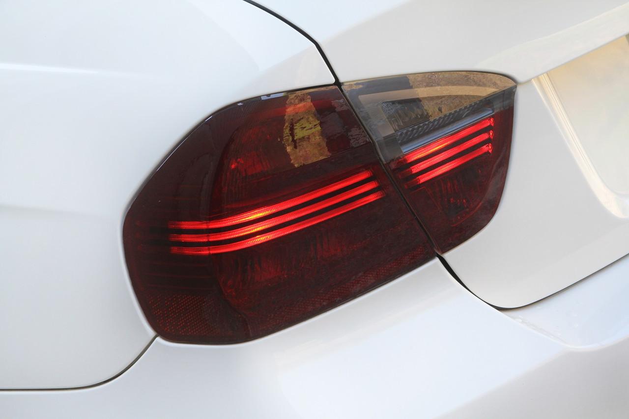 C016 Rear Lights Film Set Dark Grey Suitable For A4 B6 Sticker Tint Accessories