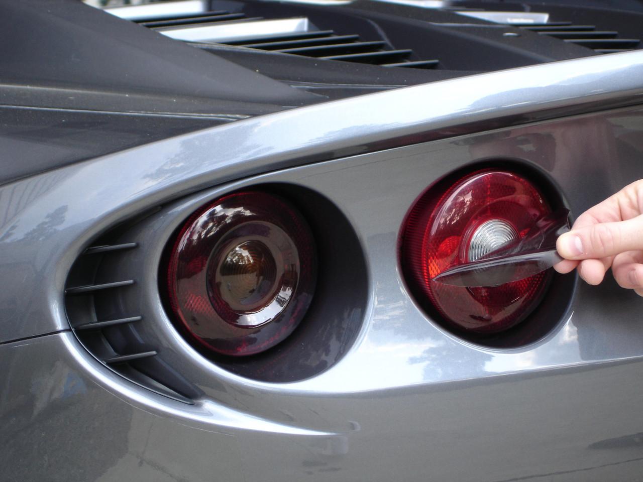 Rtint Tail Light Tint Covers for Chevrolet Silverado 2019-2020 Smoke