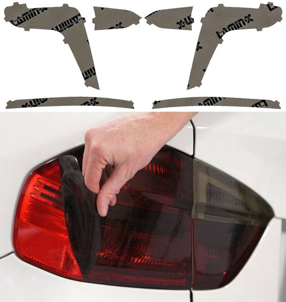 Red film gives your clear tail lights a consistent red look.