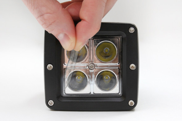 """5.20"""" - Clear 20 Mil Round Light Covers"""