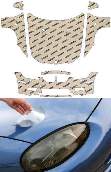 BMW M3 Coupe, Cabrio (08-13) Full Coverage Clear Bra