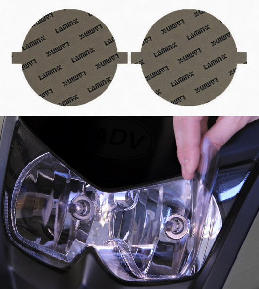 "Harley Davidson Softail 4"" Round Headlight Covers"