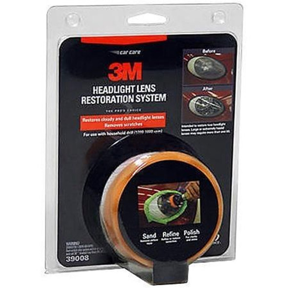 3M Headlight Lens Restoration Kit